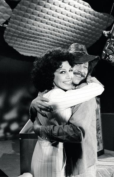 Lenita ja Irwin MTV:n Iltalintu-ohjelmassa 1976