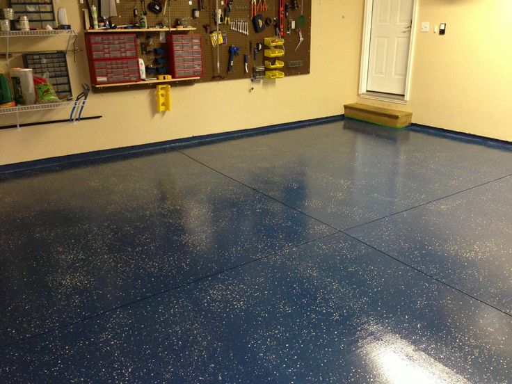 Step by step How to epoxy a garage floor. Garage floor