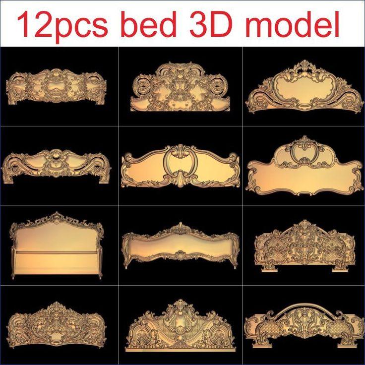 $28.00 (Buy here: https://alitems.com/g/1e8d114494ebda23ff8b16525dc3e8/?i=5&ulp=https%3A%2F%2Fwww.aliexpress.com%2Fitem%2F12pcs-set-bed-3D-Model-STL-relief-for-cnc-STL-format-Furniture-3D-STL-format-furniture%2F32791403957.html ) 12pcs/set bed 3D Model STL relief for cnc STL format Furniture 3D STL format furniture decoration for just $28.00