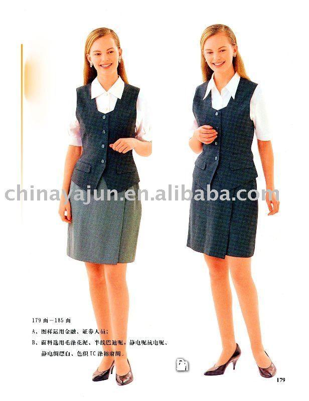 Stylish and comfortable hotel receptionists wear hotel uniform hotel uniforms waiter uniform hotel reception uniform