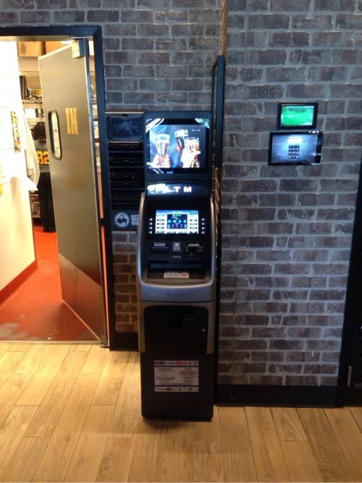Nautilus Hyosung NH2700 Installation at Buffalo Wild Wings by Ocean ATM. Call 877-538-2860 For Our Current Sale Prices.
