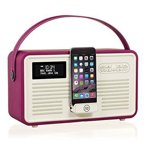 Deals week  VQ Retro Mk II DAB    DAB  Digital Radio with FM Bluetooth Apple Lightning Dock    Alarm Clock  8211