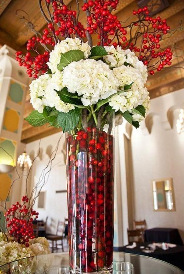 1000 images about christmas table decorations on for Artificial cranberries decoration