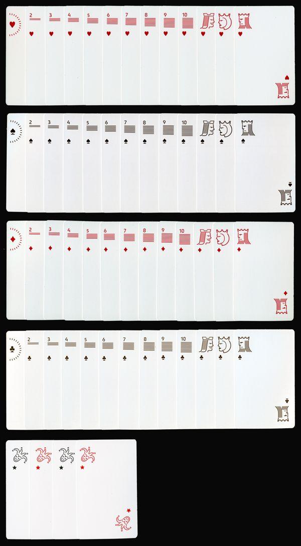 Siruca playing cards by Fabrizio Schiavi, via Behance