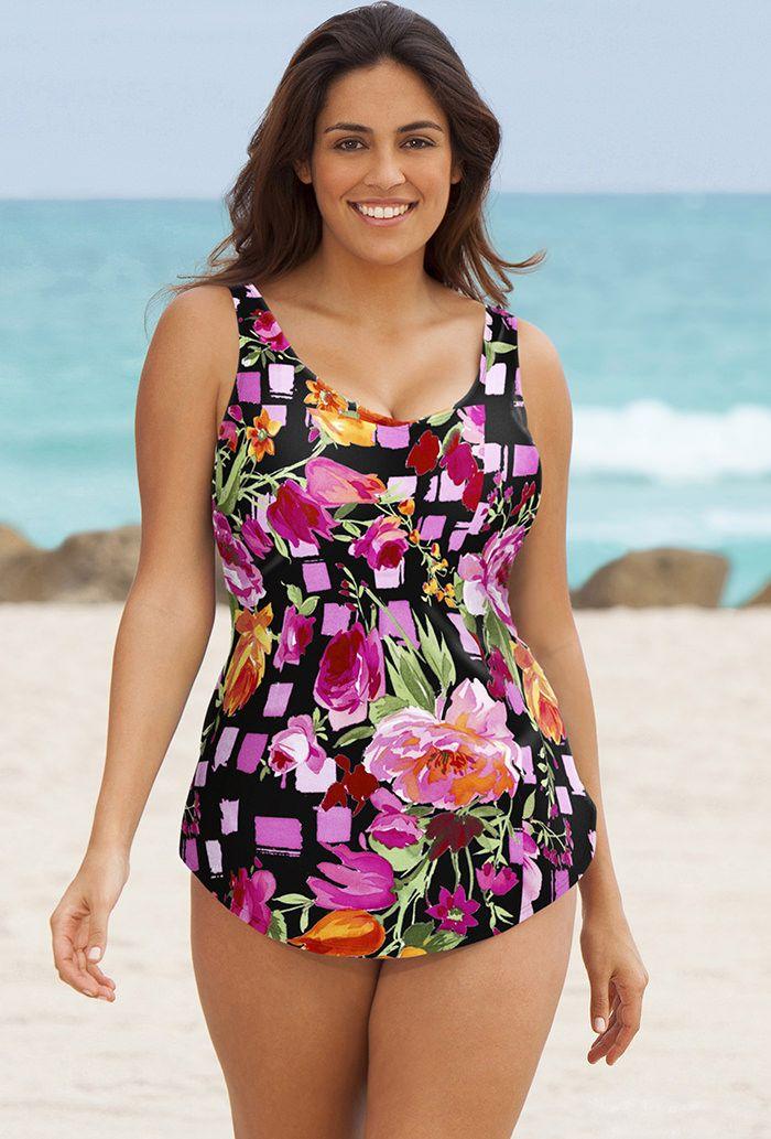 27 best plus size swimwear images on pinterest | swimsuit
