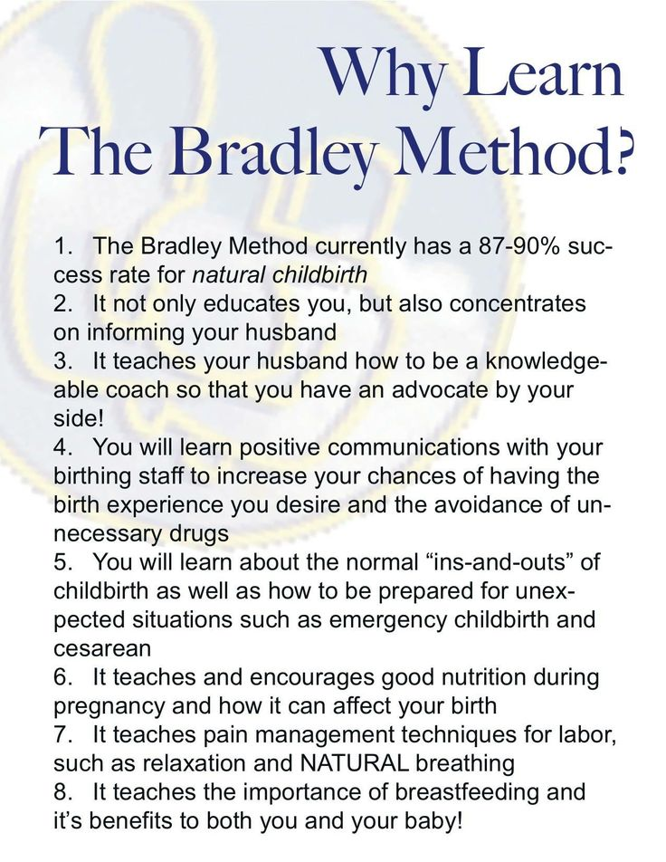 Why do Bradley method?