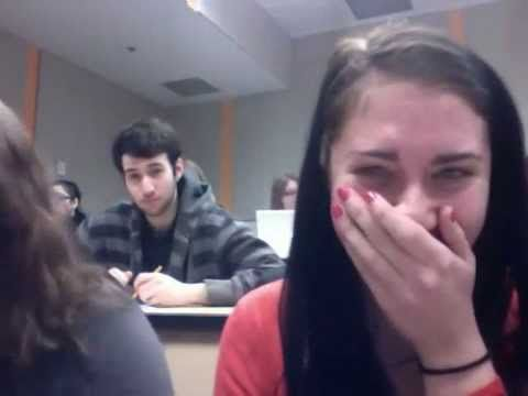 Hilarious Moment during class-This is friken amazing
