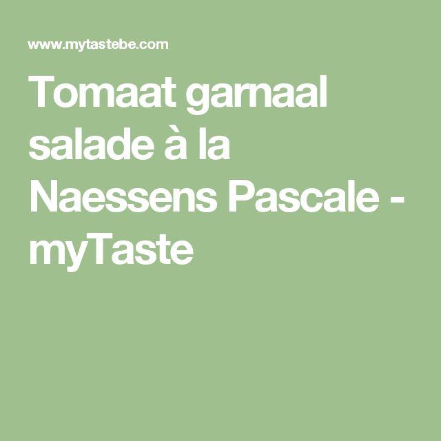 Tomaat garnaal salade à la Naessens Pascale - myTaste