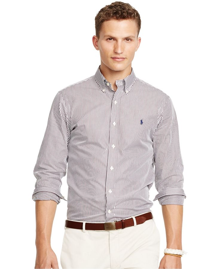 84 best c w dean casual images on pinterest dean button for White shirt brown buttons