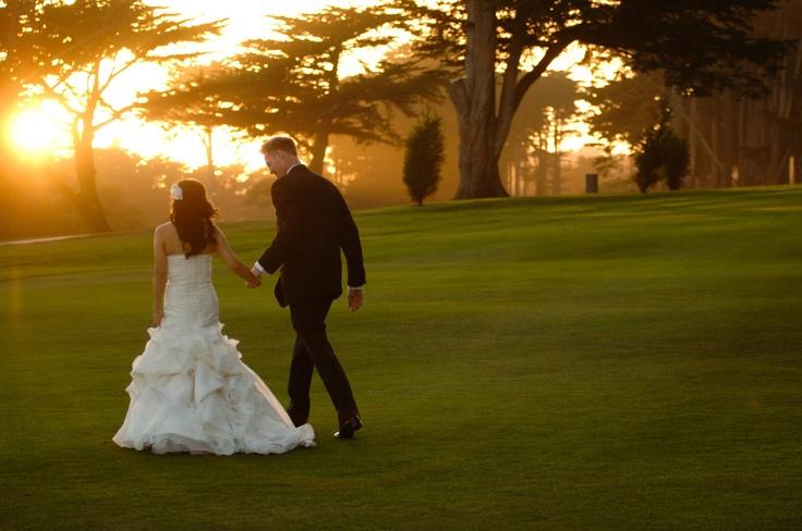 I want a golf course wedding!     Presidio Golf Course - Wedding Venue - www.dailyaisle.com