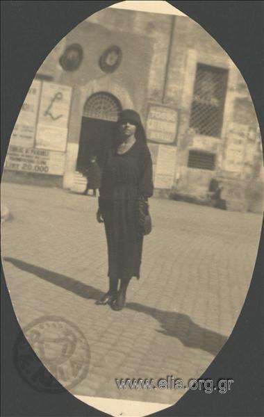 Μαρίκα Κοτοπούλη, c.1930.  Συλλογή Λέλας Ησαΐα-Στρατήγη ΑΡΧΕΙΟ ΕΛΙΑ ISA1.186