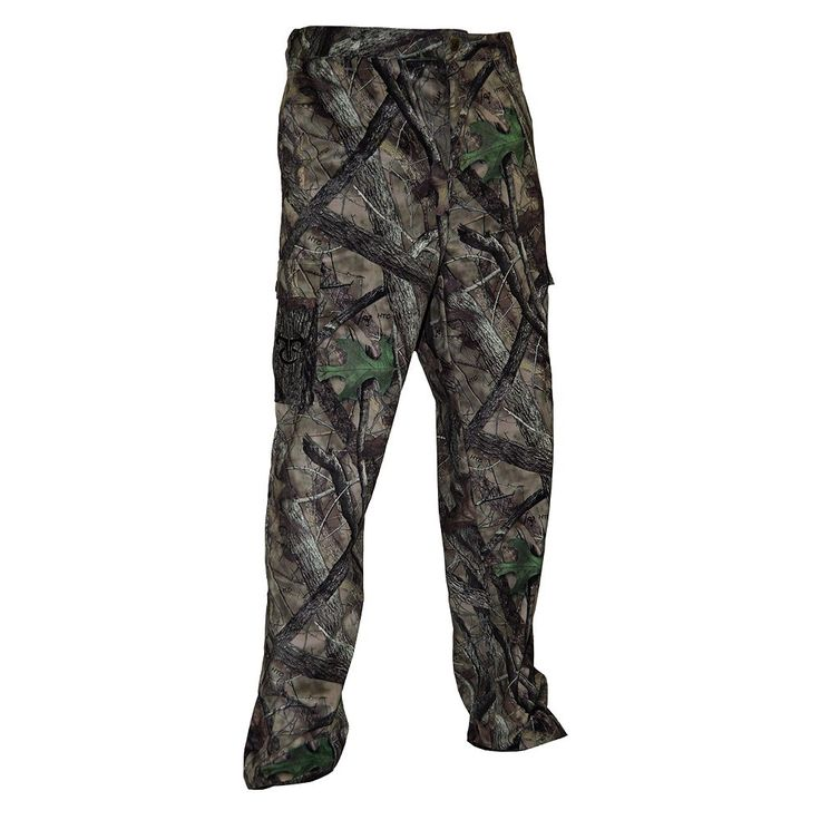 Men's True Timber TrueSuede Camo 6-Pocket Hunting Pants, Size: Medium, Dark Grey