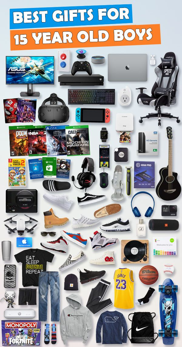 Gifts For 15 Year Old Boys 2020 Best Gift Ideas 15 Year Old Boy Birthday Gifts For Teens Cool Gifts For Teens