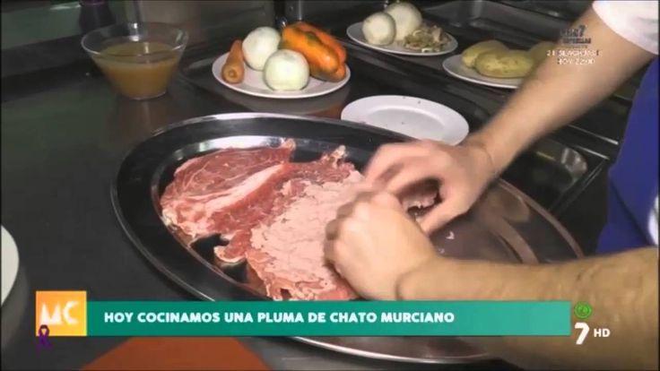 Cocinando chato murciano en Airemar Restaurante en Murcia Contecta la 7 tv