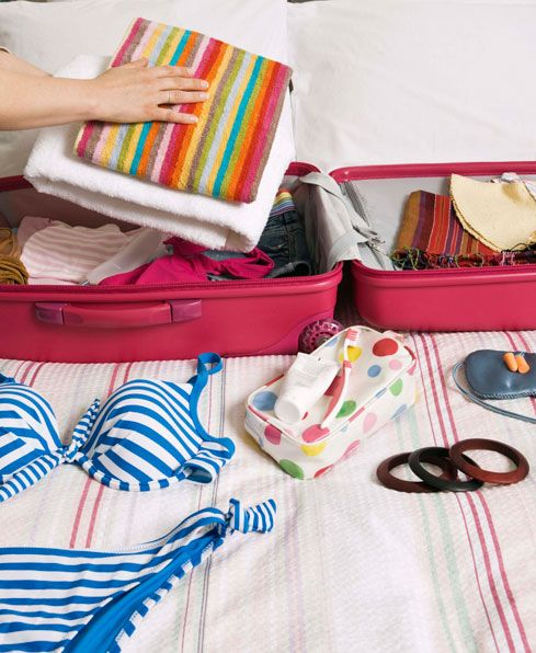 How to pack your holiday suitcase