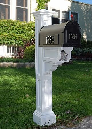 Want to add this cute paper box to my mailbox post....