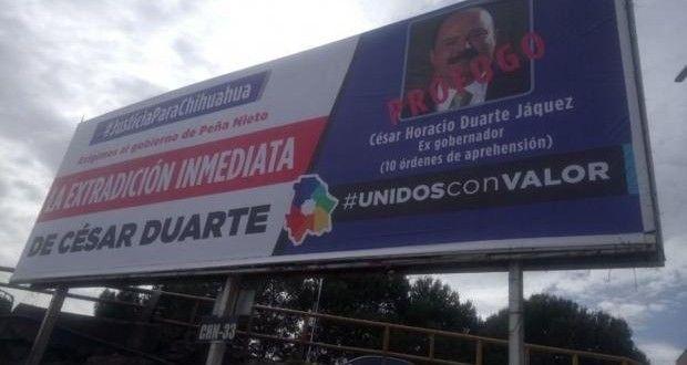Ordena juez federal a gobierno de Chihuahua retirar anuncios donde se pide extradición de César Duarte   El Puntero