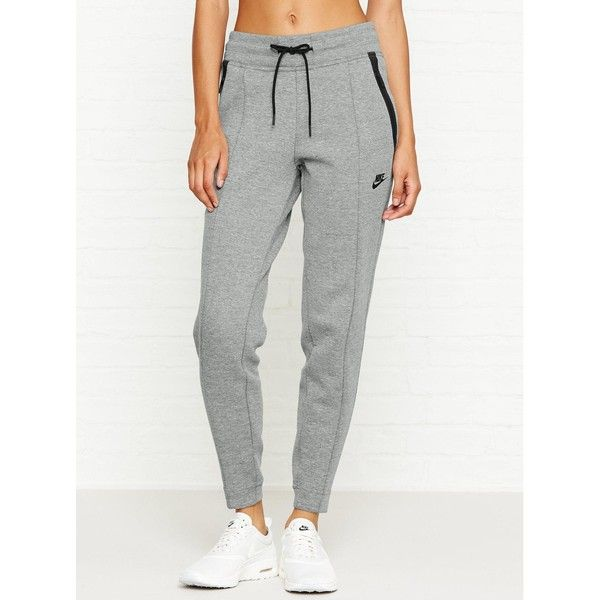 Nike Sportswear Tech Fleece Pant (€38) ❤ liked on Polyvore featuring activewear, activewear pants, grey, nike activewear pants, nike activewear, nike sportswear and nike