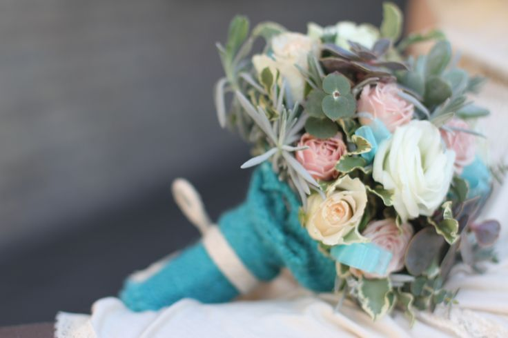 элегантный свадебный букет, букет невесты