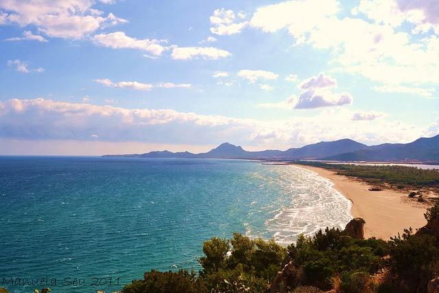 @spiaggia di #Colostrai a #Muravera: Di Colostrai, Spiaggia Di