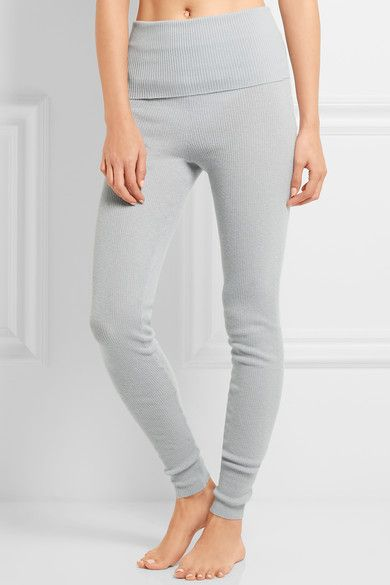 ERES Futile Tentation ribbed-knit cashmere leggings