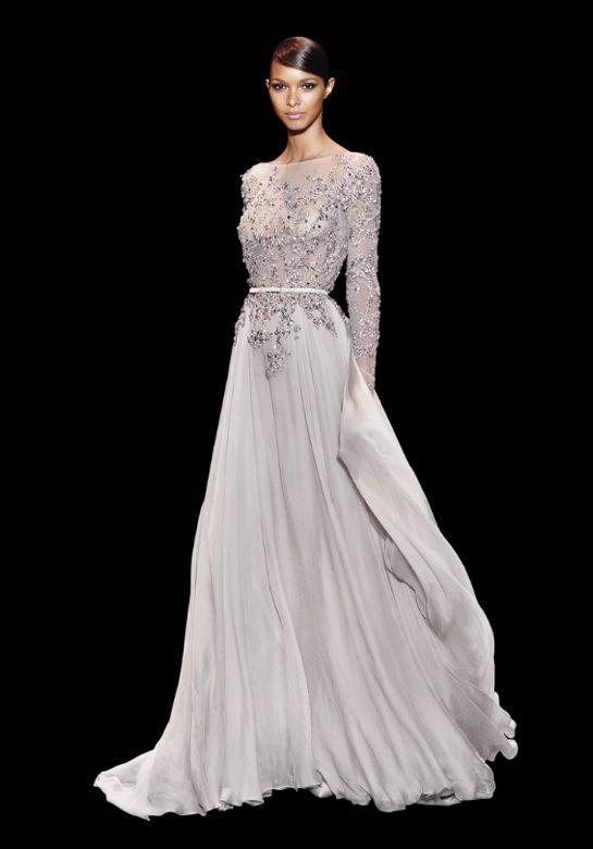 Coleccion Plata - Vestidos de Fiesta de Elie Saab