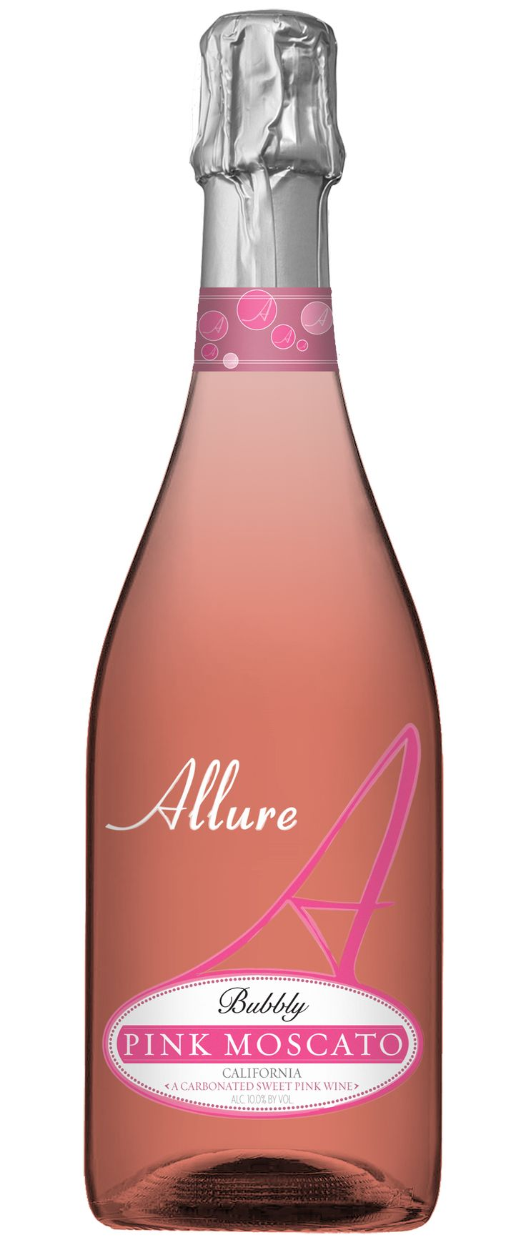 Pink Moscato Mixed Drink