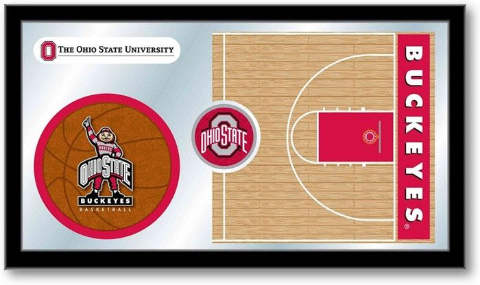 Ohio State Buckeyes Basketball Sports Team Mirror at SportsFansPlus.com. Visit website for details!