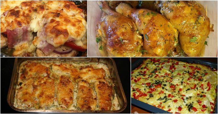 Most a Ti kedvenceitek következnek! Kilenc szaftos tepsis csirke, amit ki kell próbálni!