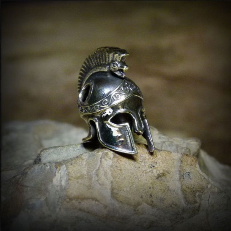 Spartan helmet WARRIOR SPARTA BEAD Lanyard Knife Torch  Paracord Cord tool K4 #RUSSIANBEADS #Spartan