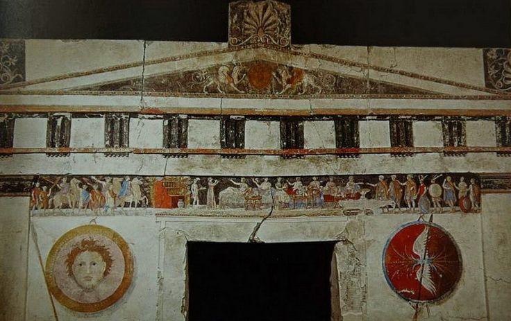 Μακεδονικός τάφος Αγίου Αθανασίου - Ancient Macedonian tomb of St Athanasios