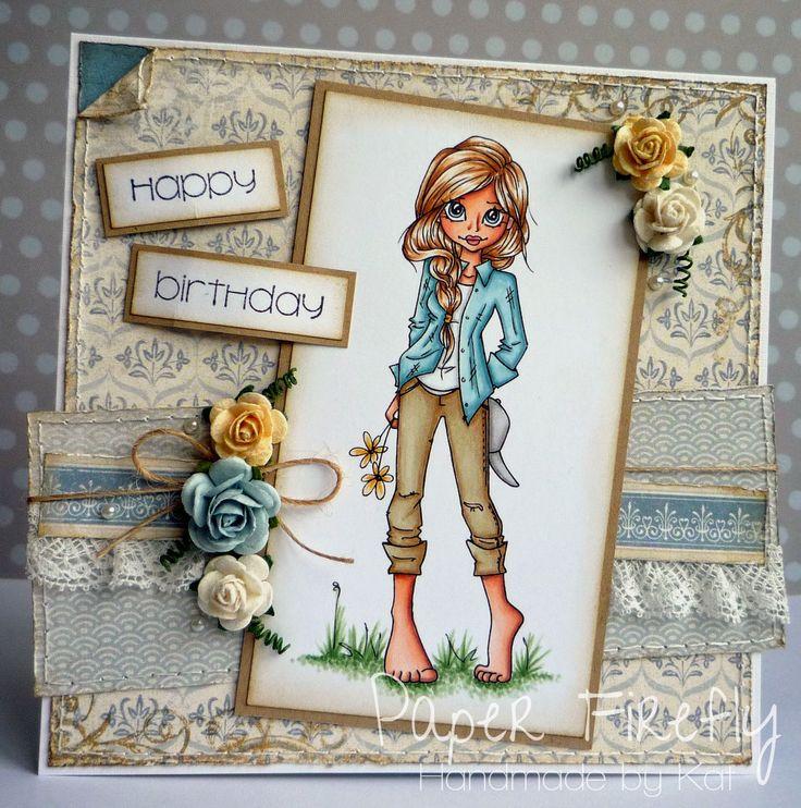 Скрапбукинг открытка на день рождения девочке 12 лет, днем