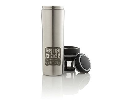 Teavana Stainless Steel Insulated Tumbler W Tea Infuser