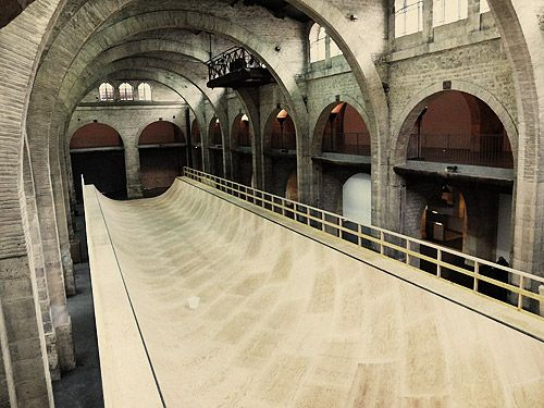 43 meters ramp - CAPC of Bordeaux