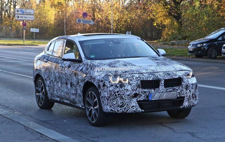 Новая серия шпионских фото BMW X2 2017. Кросс-купе БМВ Х2 проходит испытания на дорогах Европы и уже практически готов к серийному производству.