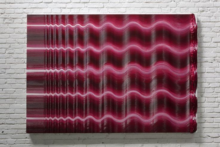 Xie Molin - Gradation No.1, acrylic on canvas, 223×155cm, 2011