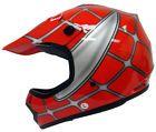Motorcycle Helmets. Youth Red Spider Net Dirt Bike Motocross Off Road MX ATV Helmet