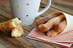 Bastoncini fritti zuccherati