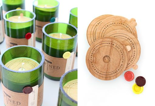 Rewined identity & packaging: Recycled Bottle, Stitches Design, Packaging Design, Recycled Wine Bottle, Bottle Candles, Candles Packaging, Wine Bottles, Soy Candles, Rewin Candles
