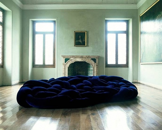 """""""The award-winning Campana Brothers have once again outdone themselves with the creation of the stunning Edra Boa Sofa."""" VISI"""