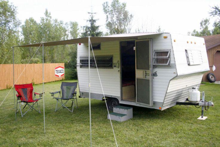 Vintage Trailer Weights : Shasta vintage camper travel trailer light weight