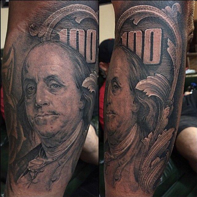 cool Top 100 money tattoos - http://4develop.com.ua/top-100-money-tattoos/ Check more at http://4develop.com.ua/top-100-money-tattoos/