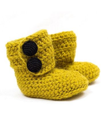 Loving this Mustard Wool-Blend Ankle Booties on Zulily. Sale ends 11/13 at 9am EST #zulily! #zulilyfinds