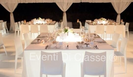 Table total White  Eventi di classe