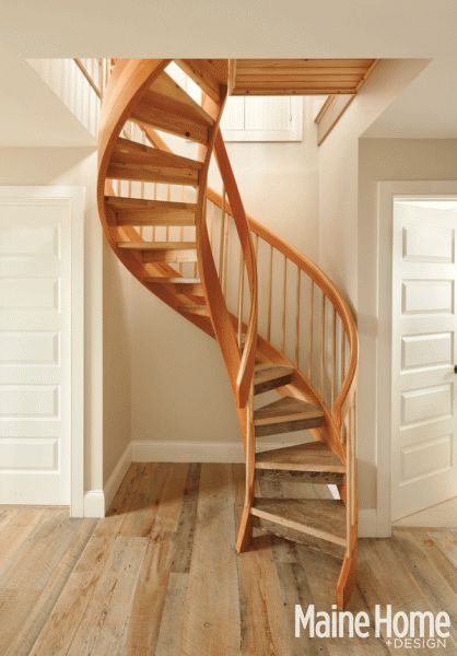 Cottage classic staircases spiral staircases and spiral for Spiral staircase options