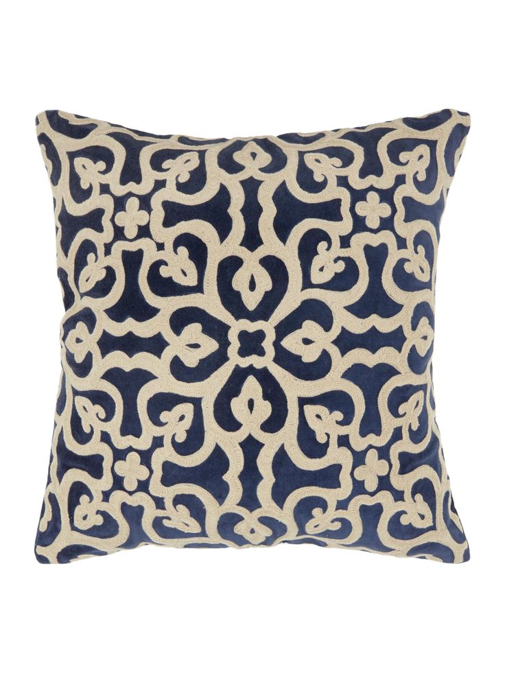 Buy your Junipa Chapra Ornamental Embroidered Cushion online now at House of Fraser. Why not Buy and Collect in-store?