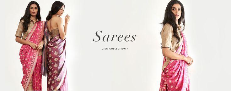 Online Saree Shopping-Buy Designer Bridal Sarees Online