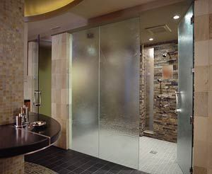 Roll in shower for wheelchair accessible