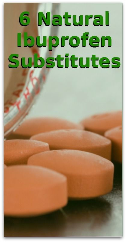 6 Natural Ibuprofen Substitutes - Natural Holistic Life