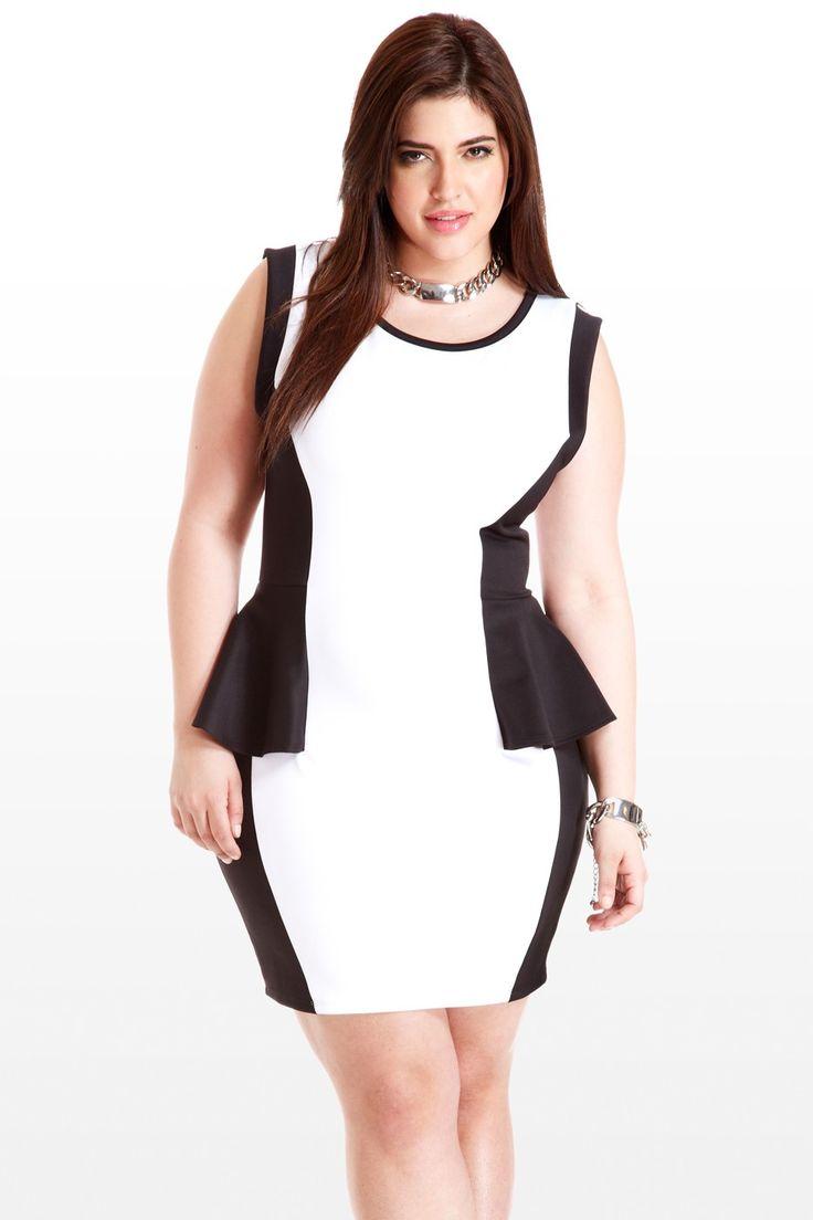 71 best images about Plus Size Peplum on Pinterest | Peplum blouse ...